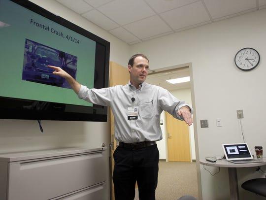 Dr. Chris Buresh, Clinical Associate Professor of Emergency