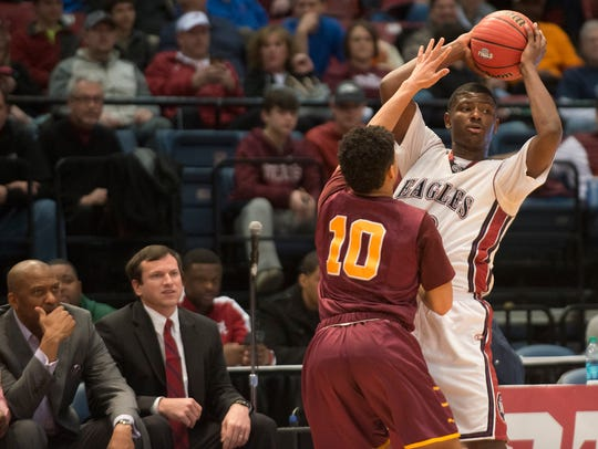 Josh Thomas scored 2,719 career points as a basketball star at Montgomery Academy. He's the city of Montgomery's all-time leading boys scorer, 200 points ahead of St. Jude's JaMychal Green, who is now in the NBA.