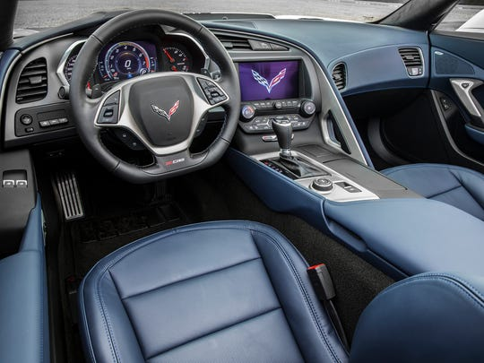 The touch screen, conventional controls and voice recognition make all the ZO6's functions easy to operate.