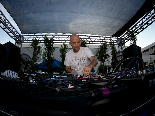 Moby Performs at Splash House