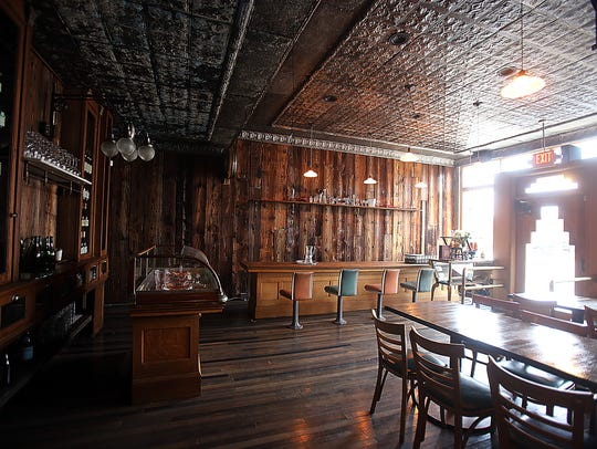 Antietam restaurant, located at 1428 Gratiot in Detroit