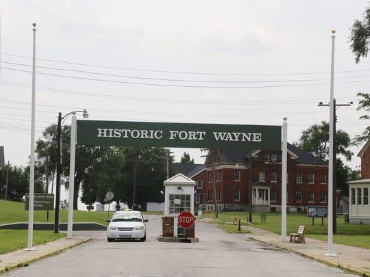 Historic Fort Wayne on West Jefferson in Detroit Thursday,