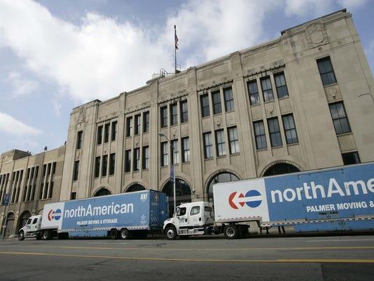 Former Detroit News Building