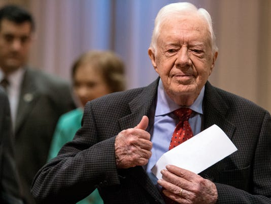 AP JIMMY CARTER CANCER A USA GA