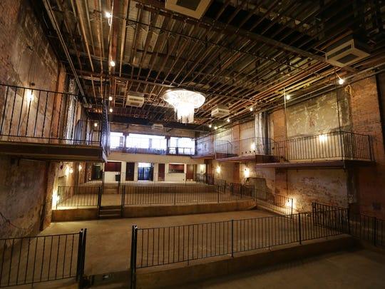 The Fine Arts Theatre on Woodward Avenue in Detroit