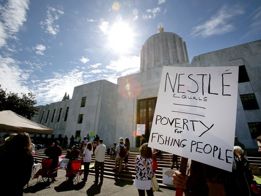 Nestle Water Rights