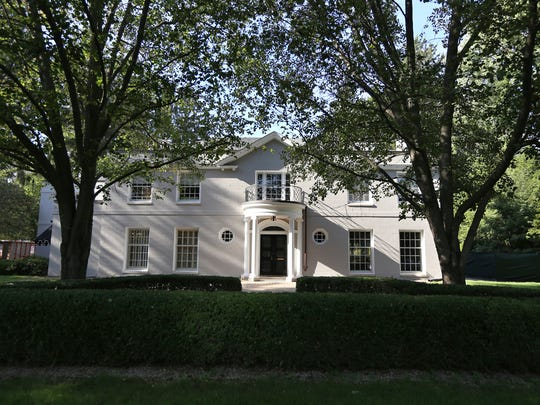 The former home of novelist Elmore Leonard home in Bloomfield Township has undergone a bit of a modern makeover. It's expected to hit the market in the next few weeks.