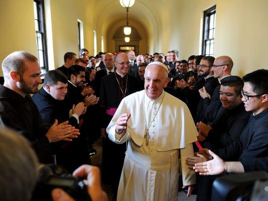 EPA USA POPE FRANCIS VISIT POL DIPLOMACY USA