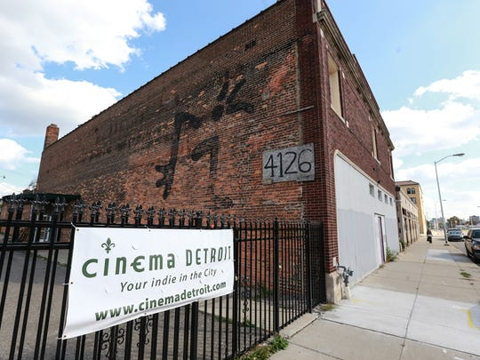 The new location of Cinema Detroit on Third Street in Detroit's Midtown is seen on Wednesday October 7, 2015.