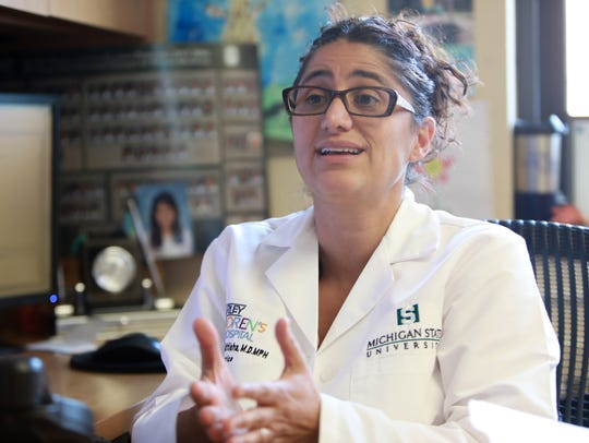 Mona Hanna-Attisha, MD, MPH program director for the