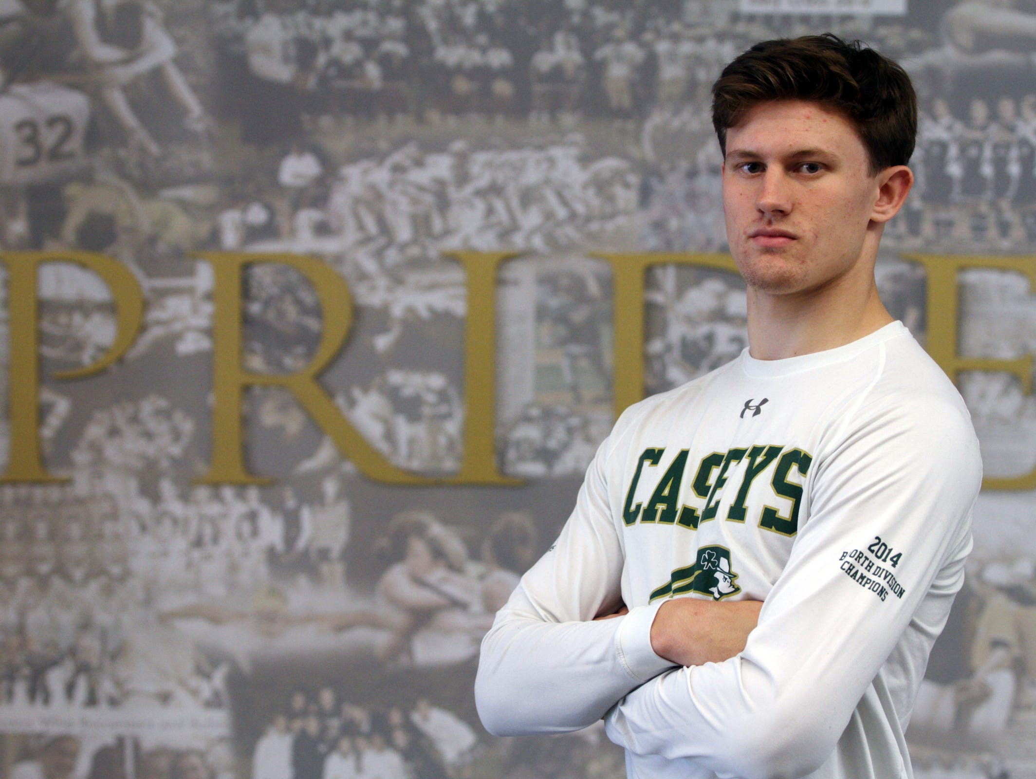 Red Bank Catholic senior quarterback Eddie Hahn will try to lead the Caseys to a win over Jackson Memorial Friday night and avenge a loss from last year..