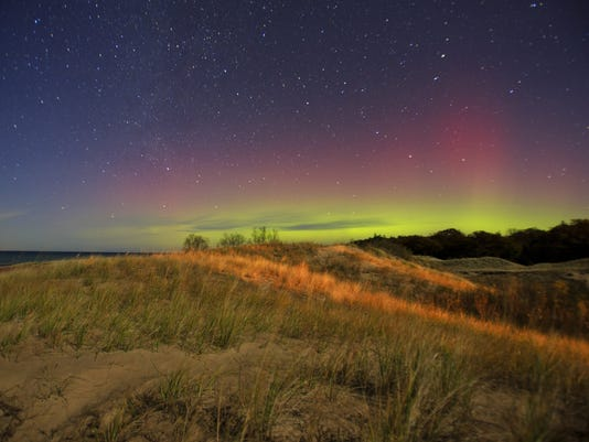 Look up! The aurora borealis could be visible again tonight