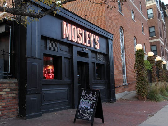 Mosley's is seen on Thursday, Oct. 22, 2015.