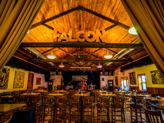 The interior of The Falcon in Marlboro.