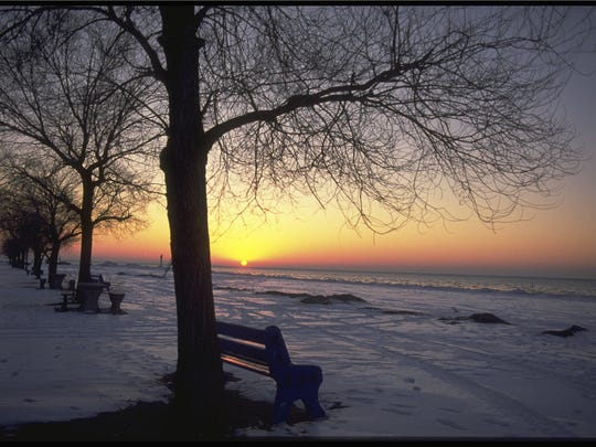Grand Bend, Ont. is a busy tourist town in summer, but off season it is serene.