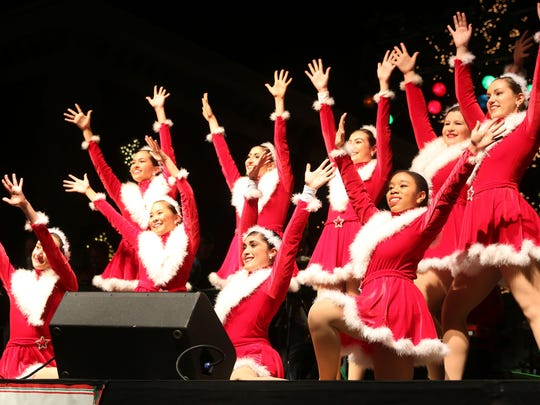 The Holiday Express concert takes place on Broad Street