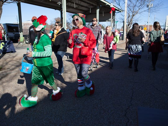 The West Tennessee Farmers Market hosts Christmas in