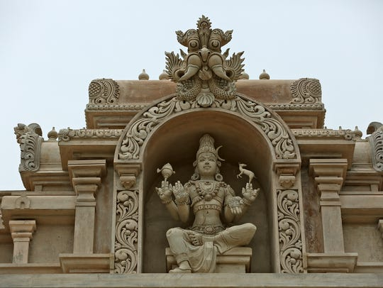 Sculptors from India moved to Indiana to mold the figures