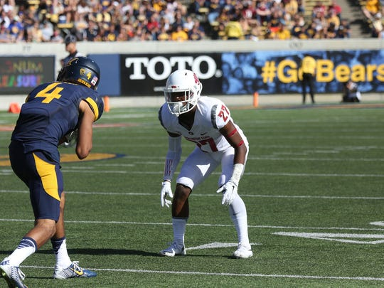 Washington State sophomore cornerback Marcellus Pippins.