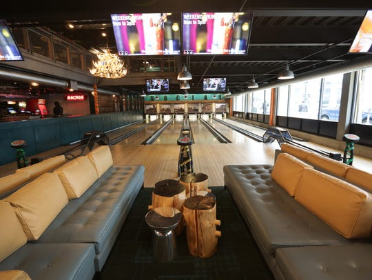 Punch Bowl Social in Detroit was No. 4 on Uber's list