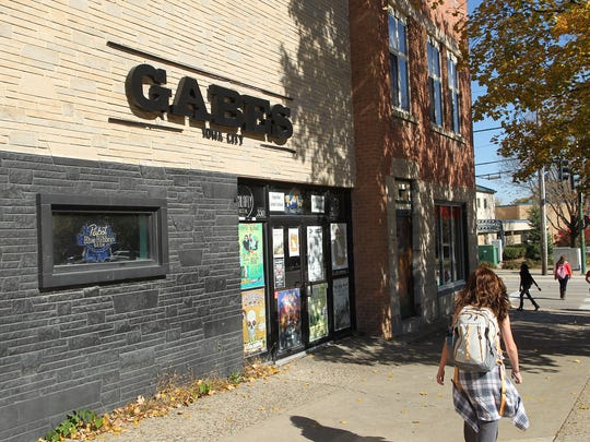 Gabe's, located on 330 E Washington St. in Iowa City.