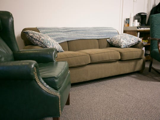 Blindskills, on State Street, received a couch and two armchairs through Catalog of Giving.