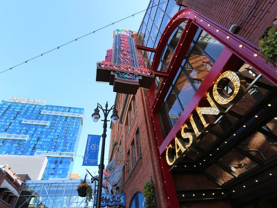 Greektown Casino-Hotel in Detroit saw revenue rise