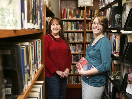 Jefferson Library Director Valerie Hauser, left, will be retiring on Jan. 21 after seven years at the library. Her assistant director, Katherine Pitman, right, will take over the director's duties after Hauser leaves.