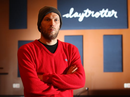 Daytrotter founder Sean Moeller poses for a photo at