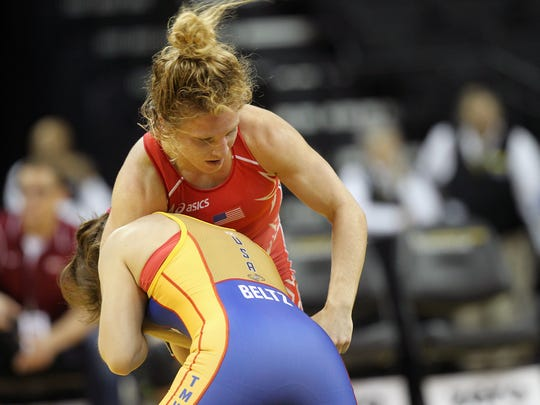 Hawkeye Wrestling Club's Lauren Louive finished fourth at the U.S. Open in Las Vegas.