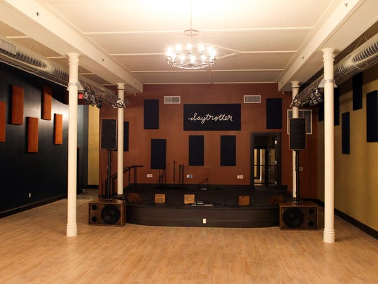 Daytrotter's new Davenport location is seen on Friday,