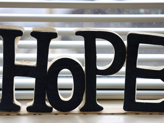 Hope is a common theme at Penn Place, where formerly