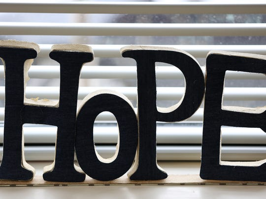 Hope is a common theme at Penn Place, where formerly homeless individuals have a chance to start fresh.