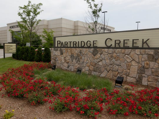 The Mall at Partridge Creek in Clinton Township.