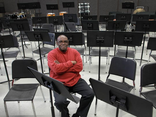 Myron McReynolds poses for a photo at the City High