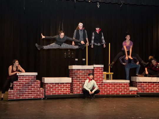 """The upcoming Somerville High School production of """"Mary Poppins"""" will feature large ensemble dance and musical productions. The show will be presented March 3 to 5 at the high school."""