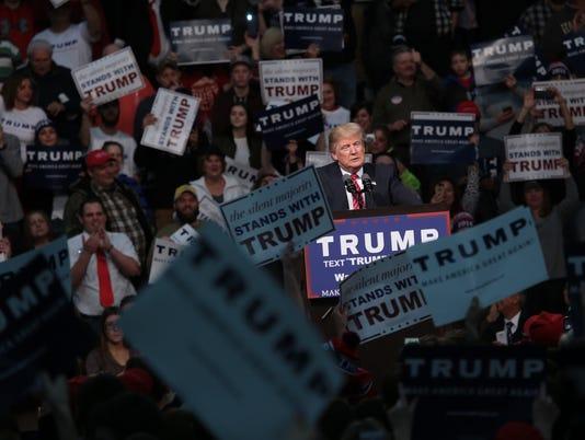 Trump in Warren