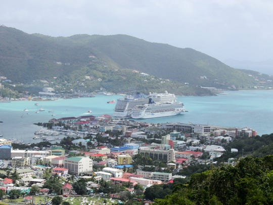 Tortola, British Virgin Islands, is just one of some 60 islands in the beautiful BVI chain. It is the capital.