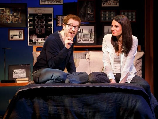 """The national tour of 2014 Broadway hit  """"If/Then"""" arrives Tuesday March 29,2016, at the Fisher Theatre."""