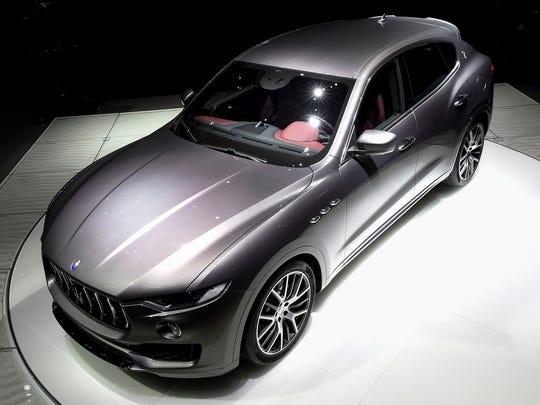 2017 Maserati Levante SUV, debuts at the Geneva Motor Show