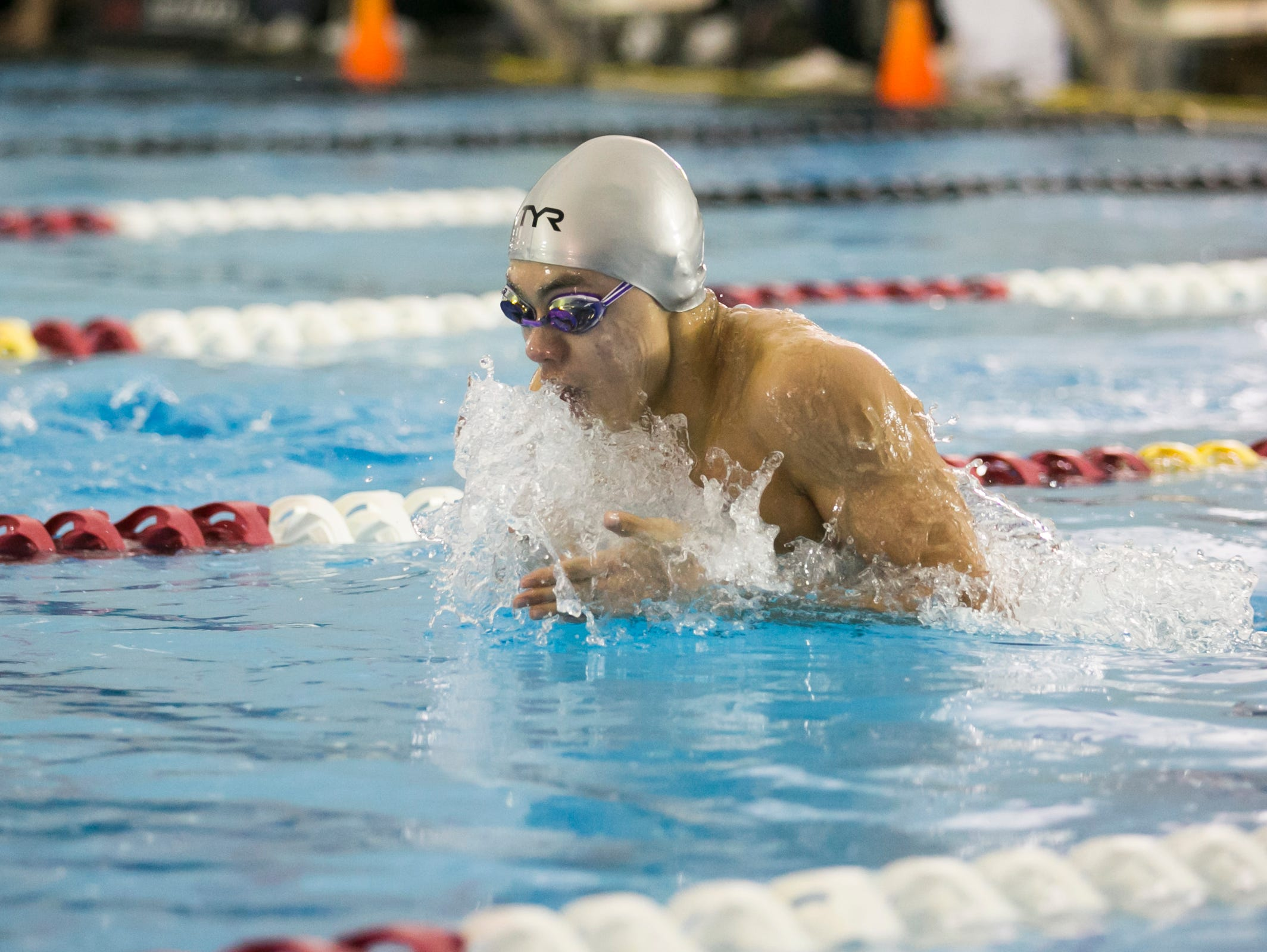 West Salem junior Micah Masei is a finalist for the All-Mid-Valley boys swimmer of the year..