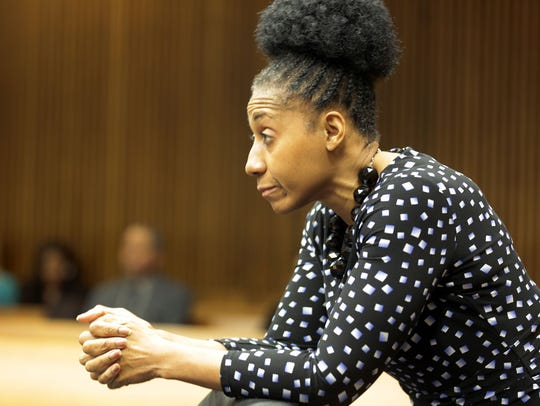 Assistant Prosecutor Lisa Lindsey listens to Wayne
