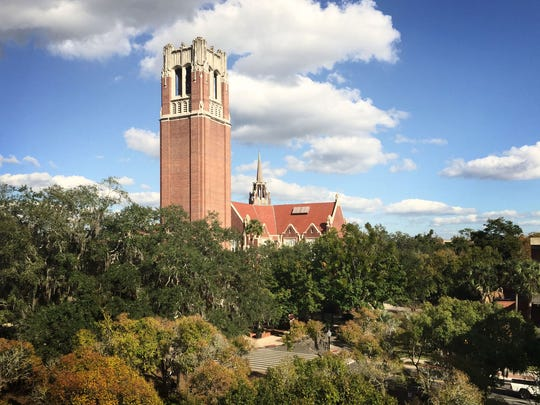 Century Tower on the campus of the University of Florida.