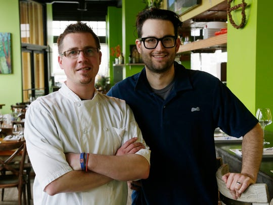 Executive chef Doug Hewitt, left, and proprietor/front-of-the-house