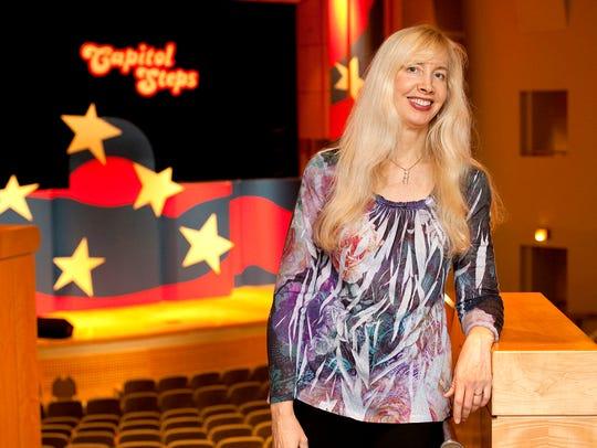 Capitol Steps co-founder Elaina Newport described their