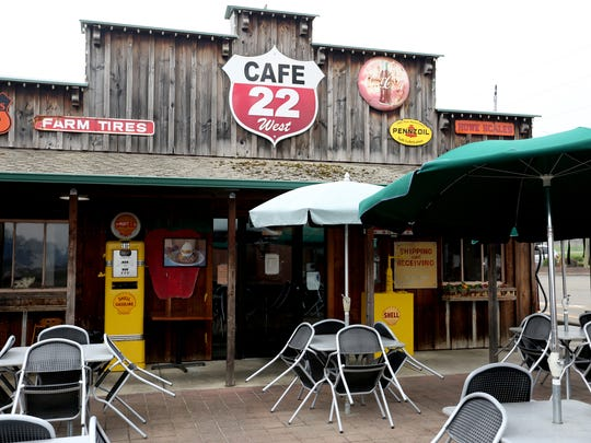 Cafe 22 is between Salem and Dallas on Highway 22.
