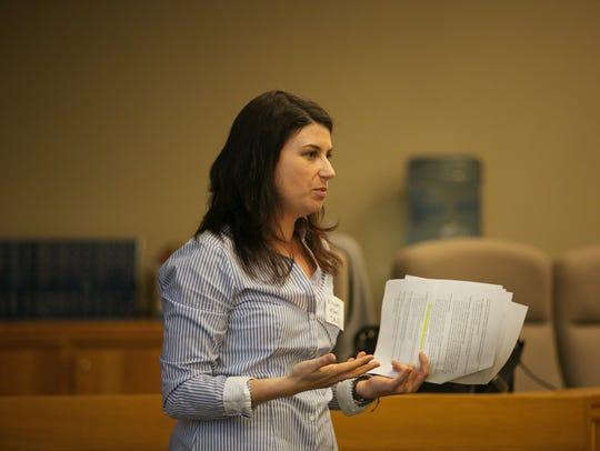 Elizabeth Elbel with the Oregon Department of Environmental