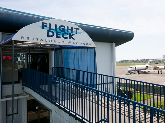 Flight Deck Restaurant & Lounge, located at 2680 Aerial Way SE, scored a 95 on its semi-annual restaurant inspection March 25.