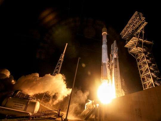 A United Launch Alliance Atlas V rocket carrying the