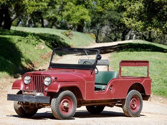 President Ronald Reagan's 1962 Jeep CJ-6 at Rancho del Cielo, now owned by Young America's Foundation.
